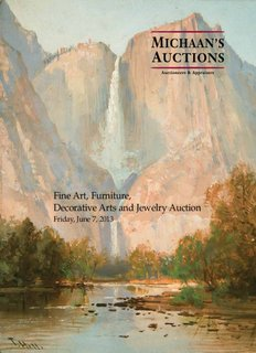 Fine Art, Furniture, Decorative Arts and Jewelry Auction