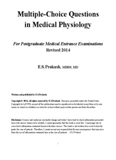 Concise Human Physiology Pdf