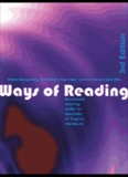 Ways of Reading: Advanced Reading Skills for Students of English
