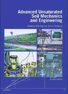 Advanced Unsaturated, Soil Mechanics and Engineering - Charles & Bruce    ميكانيك التربة.pdf