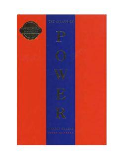 48 Laws Of Power Full Book Pdf