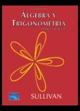 Algebra y Trigonometria 7ma Edicion Sullivan