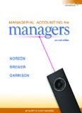 Managerial Accounting Ray Garrison Eric Noreen