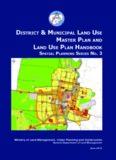 district & municipal land use master plan and land use plan handbook
