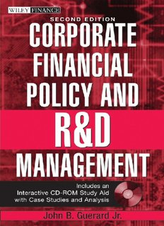 FINANCE Corporate financial policy and R and D Management.pdf