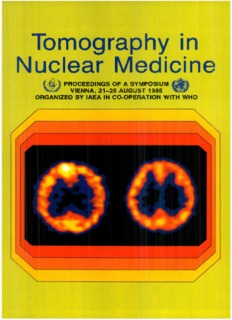 Tomography in Nuclear Medicine