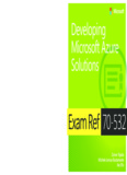 Exam Ref 70-532 Developing Microsoft Azure Solutions - Pearsoncmg