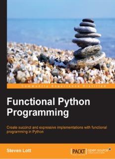 Functional Python Programming - Steve Lott - 2015.pdf