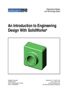 An Introduction to Engineering Design With SolidWorks