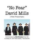 Bob Proctor Introduces David Mills No Fear