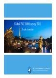 Global ISO 31000 survey 2011 - ISO 31000 Survey V27