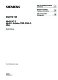 WinCC: Scripting (VBS, ANSI-C, VBA) - Siemens