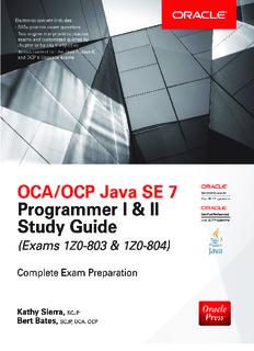 II Study Guide (Exams 1Z0-803 - 1Z0-804).