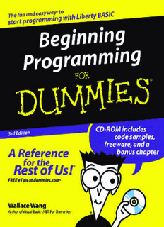 Beginning Programming for Dummies ( ebfinder.com ).pdf