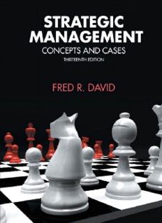 Strategic Management By Fred R David 13th Edition Pdf