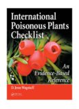 International Poisonous Plants Checklist : an Evidence-based Reference