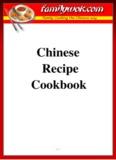 Chinese Recipe Cookbook - Family Wok
