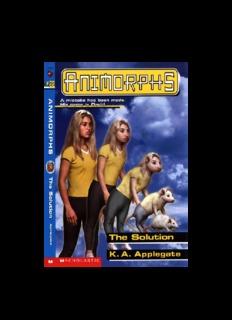 Animorphs Books Pdf