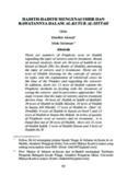 HADITH-HADITH MENGENAI SIHIR DAN RAwATANNYA DALAM AL-KUTUB AL-SITTAH