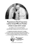 Preparation for Total Consecration to Jesus Through Mary according to St Louis de Montfort