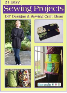 21 Easy Sewing Projects DIY Designs and Sewing Craft Ideas.pdf