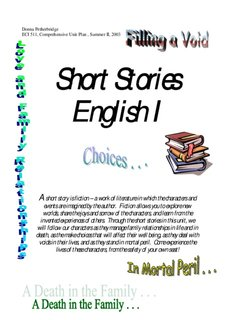 Small Novels In English Pdf