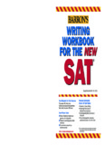 Barron's Writing Workbook for the new SAT - Ampleforth College