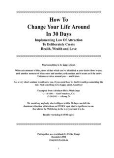 How To Change Your Life Around In 30 Days - Inspiration for Success