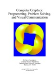 Computer Graphics: Programming, Problem Solving, and Visual