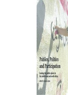 Publics, Politics and Participation