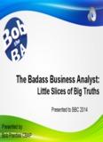 The Badass Business Analyst