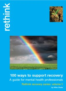 100 ways to support recovery