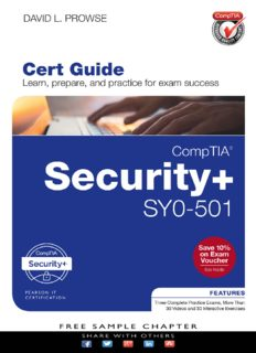 CompTIA® Security+ SY0-501 Cert Guide