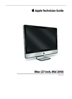 apple technician guide imac 27 inch mid 2010 download 287 pages rh pdfdrive com Apple iMac 13 Apple iMac 13