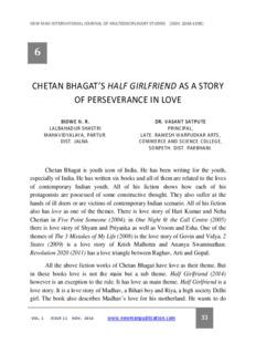 Pdf File Of Novel Half Girlfriend By Chetan Bhagat