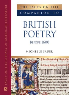The Facts on File Companion to British Poetry Before 1600 ( ebfinder.com ).pdf
