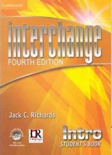 Interchange Intro 4th Edition Pdf
