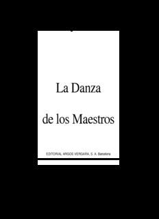 Gary Zukav - La danza de los maestros.pdf