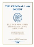 the criminal law digest the criminal law digest - State of New Jersey