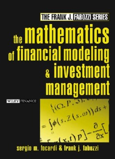 Frank Fabozzi - The Mathematics Of Financial Modeling And Investment Management.pdf