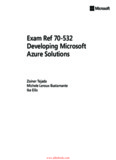Exam Ref 70-532 Developing Microsoft Azure Solutions Ebook