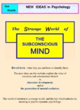 The world Of Subconscious Mind - Everything is kept with a lock and