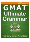 GMAT Ultimate Grammar - GMAT Club Community
