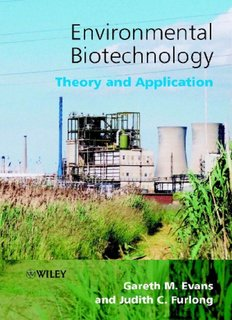 Environmental Biotechnology - Theory and Application