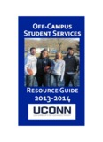 Off-Campus Housing Guide - Off-Campus Student Services