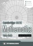 Cambridge IGCSE Mathematics Study Guide Answer Key