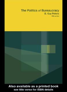 The Politics of Bureaucracy ( ebfinder.com ).pdf