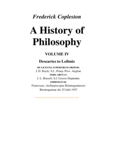 Frederick Copleston A History of Philosophy
