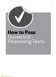 How to Pass Numerical Reasoning Tests - IBPS Exam
