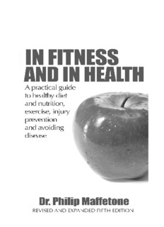 Fitness and Health: A Practical Guide to Nutrition, Exercise and Avoiding Disease